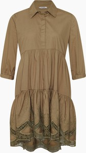 Brązowa sukienka ORSAY w stylu casual mini