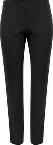 Czarne spodnie Makover z tkaniny