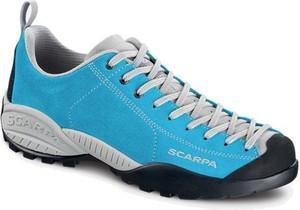Buty trekkingowe Scarpa z płaską podeszwą ze skóry