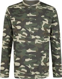 T-shirt Emp z długim rękawem w militarnym stylu