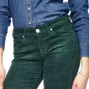 Zielone jeansy Lee w stylu casual