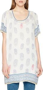 Bluzka Kaporal w stylu casual z krótkim rękawem z okrągłym dekoltem