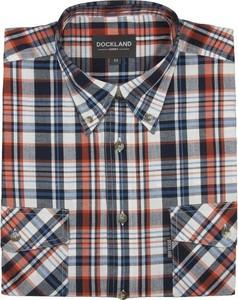 Koszula Dockland z krótkim rękawem z kołnierzykiem button down