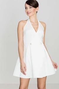 Sukienka Katrus rozkloszowana bez rękawów