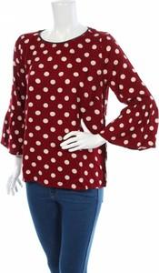 Czerwona bluzka Soulmate z długim rękawem