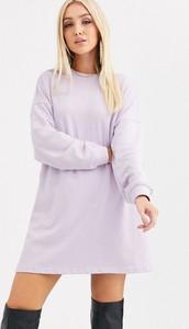 Sukienka Missguided z dresówki oversize