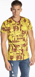 T-shirt Gate z nadrukiem