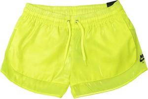 Żółte szorty Nike z tkaniny