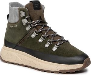 Zielone buty sportowe Gant