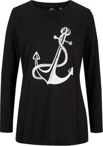 T-shirt bonprix z bawełny z długim rękawem