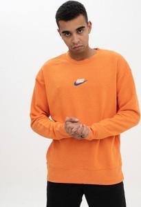 Brązowa bluza Nike z dzianiny