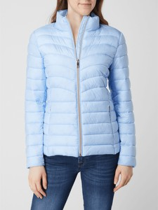 Niebieska kurtka Esprit w stylu casual krótka