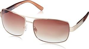 Dorjan carlo monti mężczyzn scm114 prostokątne okulary przeciwsłoneczne - złoto