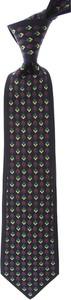 Czarny krawat Mila Schon