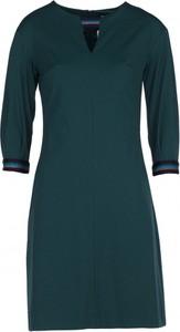 Sukienka VISSAVI z długim rękawem mini w stylu casual