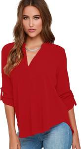 Elegrina bluzk bahami czerwona
