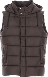 Brązowa kurtka Herno w stylu casual krótka