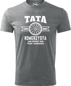 T-shirt TopKoszulki.pl z bawełny z krótkim rękawem w młodzieżowym stylu