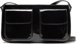Czarna torebka Gino Rossi na ramię średnia