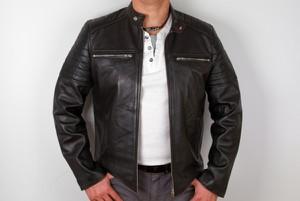 c12650b18917b modne kurtki skórzane męskie - stylowo i modnie z Allani