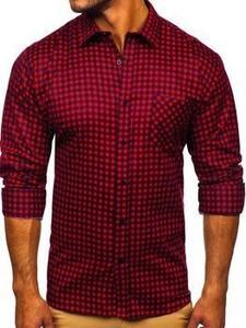 Granatowa koszula Denley w stylu casual