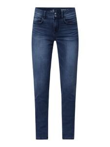 Granatowe jeansy Tom Tailor w stylu casual z bawełny