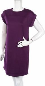 Sukienka S.Oliver prosta z krótkim rękawem z okrągłym dekoltem
