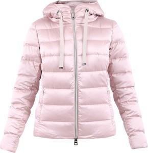Różowa kurtka Herno krótka