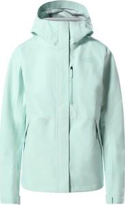 Niebieska kurtka The North Face w sportowym stylu krótka