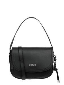 Czarna torebka Liu-Jo w stylu casual matowa ze skóry ekologicznej