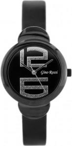 ZEGAREK DAMSKI Gino Rossi - 8311A black/black Czarny