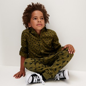 Zielona koszula dziecięca Sinsay dla chłopców