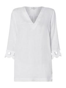 Bluzka Nadine H z dekoltem w kształcie litery v z długim rękawem