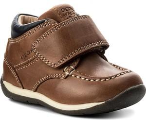 Brązowe buty geox