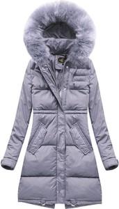 Fioletowa kurtka Libland w stylu casual