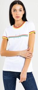 Bluzka Big Star z bawełny z krótkim rękawem w młodzieżowym stylu