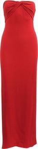 Czerwona sukienka Gucci z dekoltem w kształcie litery v
