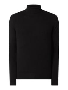 Sweter Jack & Jones z bawełny z golfem w stylu casual