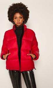 Czerwona kurtka My Twin krótka w stylu casual