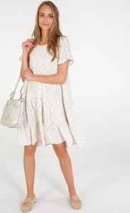 Sukienka Unisono z krótkim rękawem