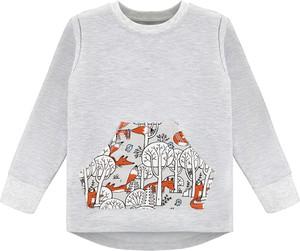 Bluzka dziecięca Ekoubranka z bawełny dla dziewczynek