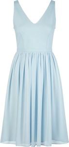 Sukienka Apart mini z dekoltem w kształcie litery v