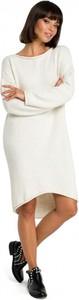 Sukienka Be Knit w stylu casual z dekoltem w łódkę