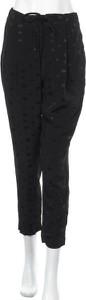 Czarne spodnie Tommy Hilfiger ze sztruksu