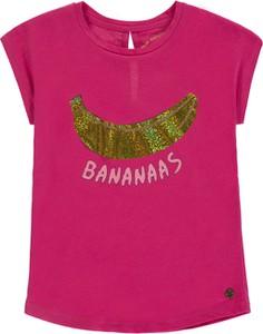 Koszulka dziecięca Tom Tailor z bawełny z krótkim rękawem dla dziewczynek