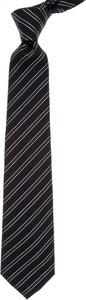 Czarny krawat Valentino