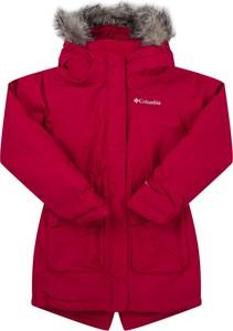 Czerwona kurtka dziecięca Columbia
