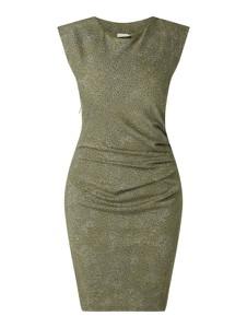 Sukienka Kaffe bez rękawów mini z okrągłym dekoltem