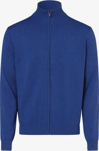 Niebieski sweter Andrew James w stylu casual