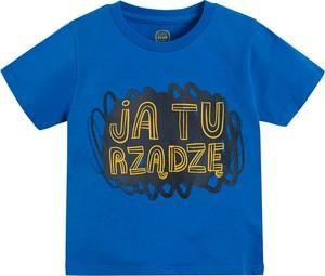 Koszulka dziecięca Cool Club dla chłopców z bawełny
